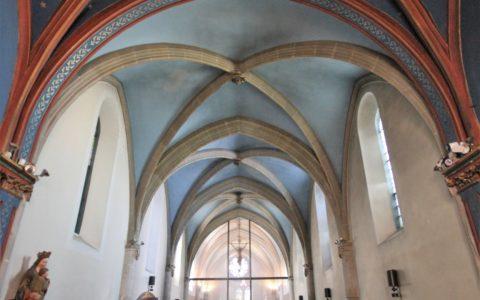 Eglise supérieure du sanctuaire de Myans