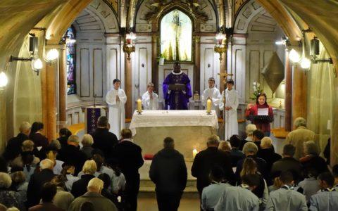 Messe au sanctuaire de Myans
