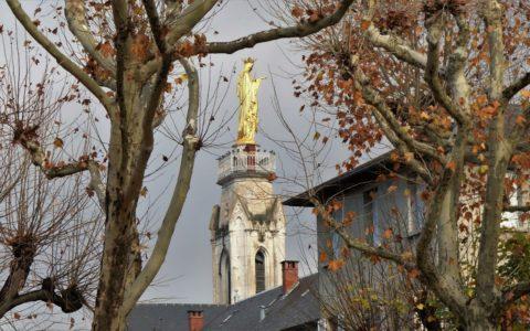 Vierge dorée Notre Dame de Myans