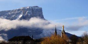 Le mont Granier et le sanctuaire de Myans